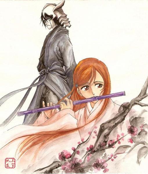 Tags: Anime, BLEACH, Ulquiorra Schiffer, Inoue Orihime, Espada