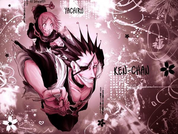 Tags: Anime, BLEACH, Kusajishi Yachiru, Zaraki Kenpachi, Wallpaper, Gotei 13, 11th Squad