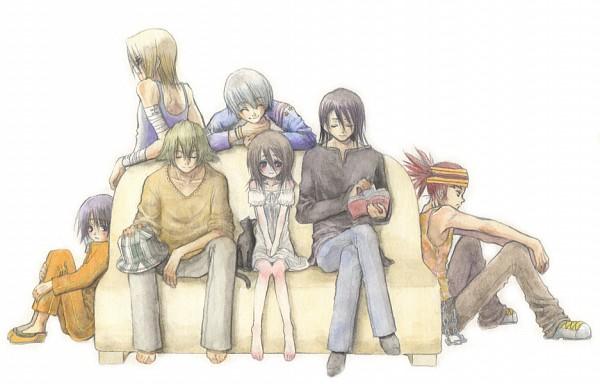Tags: Anime, BLEACH, Kira Izuru, Kuchiki Rukia, Urahara Kisuke, Abarai Renji, Shihouin Yoruichi (Cat), Ichimaru Gin, Kuchiki Byakuya, Hinamori Momo, Shihouin Yoruichi, Gotei 13