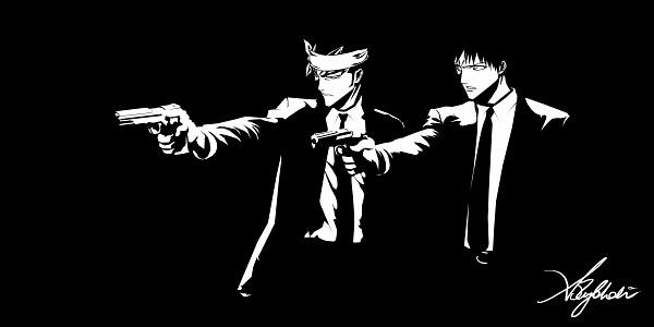 Tags: Anime, BLEACH, Hisagi Shuuhei, Abarai Renji, Kurosaki Ichigo, Aiming To Side, Ashley-mohabir, Wallpaper, Gotei 13