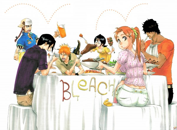 Tags: Anime, Tite Kubo, BLEACH, Ishida Uryuu, Kuchiki Rukia, Yasutora