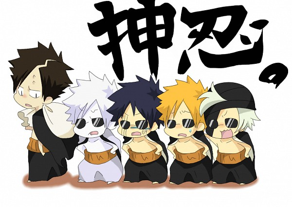Tags: Anime, 六 (Artist), BLEACH: The Hell Verse, BLEACH, Hollow Ichigo, Hisagi Shuuhei, Akon, Kurosaki Ichigo, Kokuto, Gotei 13