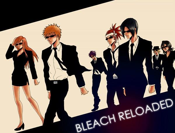 Tags: Anime, Raenstrife, Katekyo Hitman REBORN!, BLEACH, Kurosaki Ichigo, Inoue Orihime, Urahara Kisuke, Kuchiki Rukia, Hisagi Shuuhei, Abarai Renji, Ishida Uryuu, Gotei 13