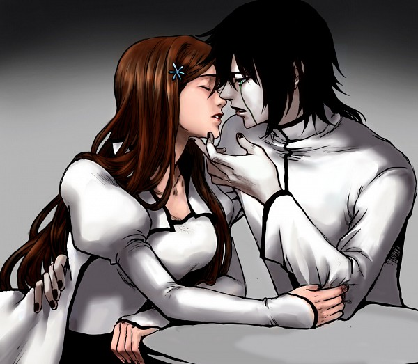 Tags: Anime, Billiefeng, BLEACH, Ulquiorra Schiffer, Inoue Orihime, Arrancar Clothes, deviantART, UlquiHime