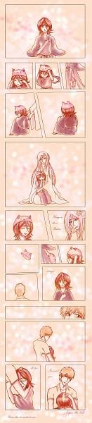 Tags: Anime, BLEACH, Kuchiki Rukia, Kurosaki Ichigo, Sode no Shirayuki, Zanpakutou, Gotei 13