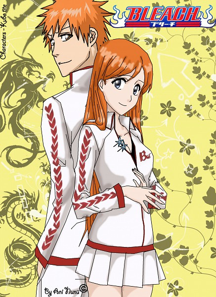Tags: Anime, Ani-nunu, BLEACH, Inoue Orihime, Kurosaki Ichigo, deviantART