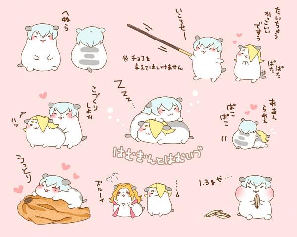 Tags: Anime, Pixiv Id 187909, BLEACH, Kira Izuru, Ichimaru Gin, Matsumoto Rangiku, Gotei 13