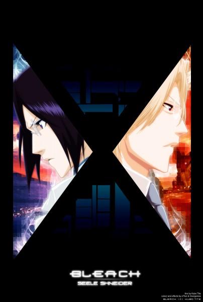 Tags: Anime, Kubo Tite, BLEACH, Ishida Ryuuken, Ishida Uryuu, Artist Request, Colorization