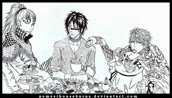 Tags: Anime, BLEACH, Abarai Renji, Grimmjow Jeagerjaques, Hisagi Shuuhei, Nemesihouseburns, Facebook Cover, Gotei 13, Espada