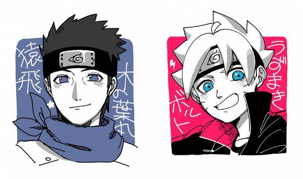 Tags: Anime, Pixiv Id 6465681, BORUTO: Naruto Next Generations, NARUTO, Uzumaki Boruto, Sarutobi Konohamaru, Fanart, Fanart From Pixiv, Pixiv