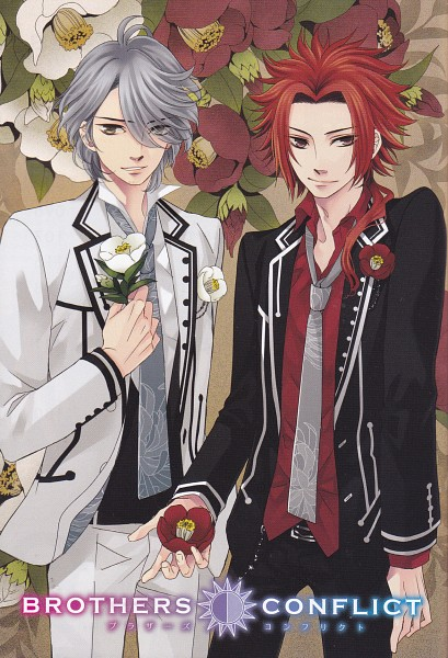 Tags: Anime, Udajo, IDEA FACTORY, BROTHERS CONFLICT, Asahina Iori, Asahina Yusuke, Mobile Wallpaper, Official Art