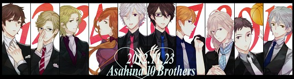 Tags: Anime, Pixiv Id 1722820, BROTHERS CONFLICT, Asahina Subaru, Asahina Louis, Asahina Tsubaki, Asahina Azusa, Asahina Natsume, Asahina Kaname, Asahina Ukyo, Asahina Hikaru, Asahina Masaomi, Asahina Iori