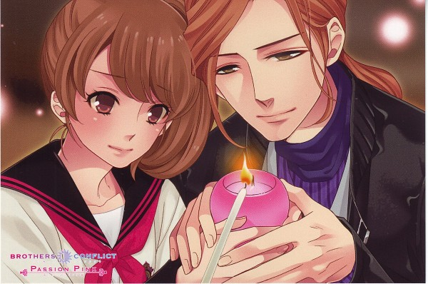 Tags: Anime, Udajo, IDEA FACTORY, BROTHERS CONFLICT, Asahina Hikaru, Ema (Brothers Conflict), Scan, Official Art