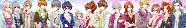 Tags: Anime, Pixiv Id 1576118, BROTHERS CONFLICT, Juli (Brothers Conflict), Asahina Tsubaki, Asahina Louis, Asahina Kaname, Asahina Azusa, Asahina Futo, Asahina Masaomi, Asahina Natsume, Asahina Ukyo, Asahina Yusuke