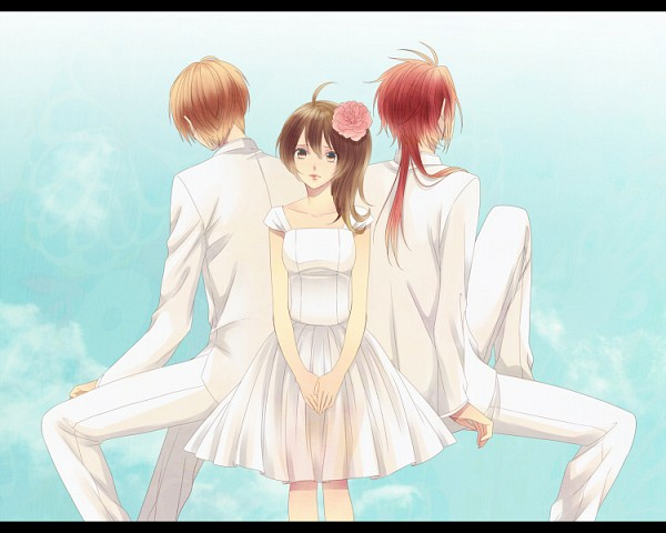 Tags: Anime, Pixiv Id 327599, BROTHERS CONFLICT, Asahina Yusuke, Ema (Brothers Conflict), Asahina Natsume, Pixiv, Fanart, Fanart From Pixiv