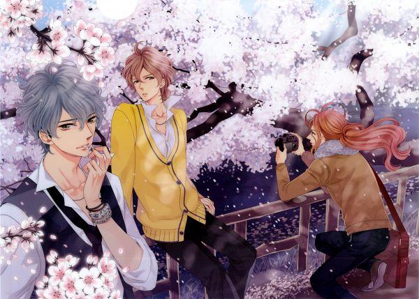 Tags: Anime, Udajo, BROTHERS CONFLICT, Asahina Iori, Asahina Hikaru, Asahina Futo, Official Art, Scan
