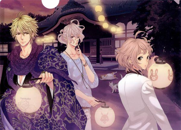 Tags: Anime, Udajo, BROTHERS CONFLICT, Asahina Kaname, Asahina Wataru, Asahina Louis, Official Art, Scan