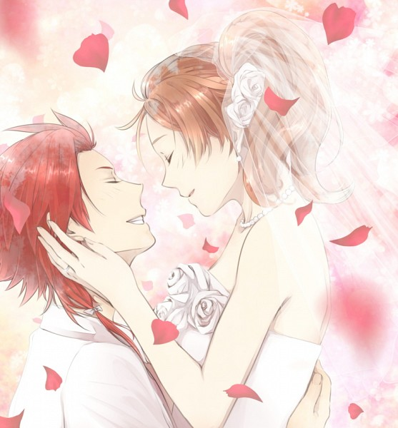 Tags: Anime, tsubo, BROTHERS CONFLICT, Asahina Yusuke, Ema (Brothers Conflict), Lifting, Fanart From Pixiv, Pixiv, Fanart
