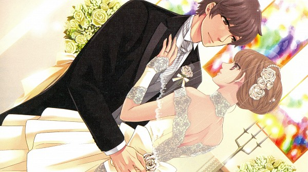 Tags: Anime, Udajo, IDEA FACTORY, BROTHERS CONFLICT, Asahina Masaomi, Ema (Brothers Conflict), White Nails, Church, Facebook Cover, Wallpaper, CG Art, Self Scanned, Scan