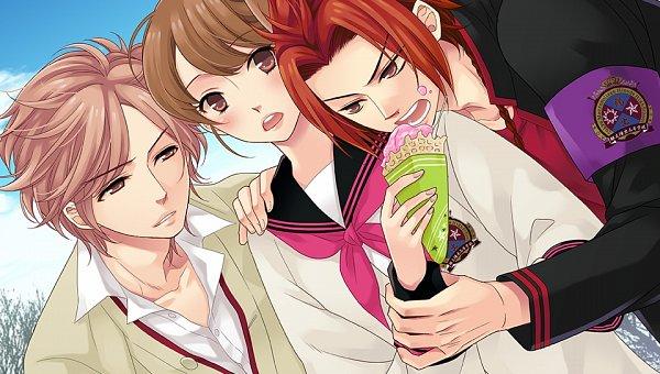 Tags: Anime, Udajo, Otomate, IDEA FACTORY, BROTHERS CONFLICT, Ema (Brothers Conflict), Asahina Futo, Asahina Yusuke, Official Art, CG Art