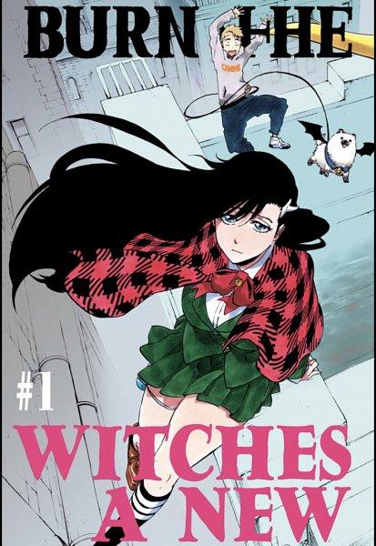 Tags: Anime, Kubo Tite, BURN THE WITCH, Balgo Parks, Osushi-chan, Niihashi Noel, Chapter Cover, Official Art, Manga Page