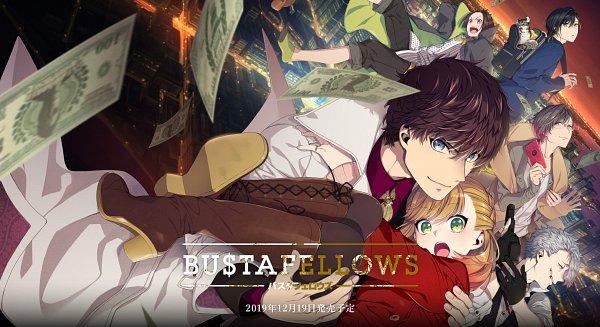 Tags: Anime, Sumeragi Kohaku, BUSTAFELLOWS, Mozu (BUSTAFELLOWS), Helvetica, Limbo (BUSTAFELLOWS), Shu (BUSTAFELLOWS), Teuta, Scarecrow (BUSTAFELLOWS), Official Art, Wallpaper