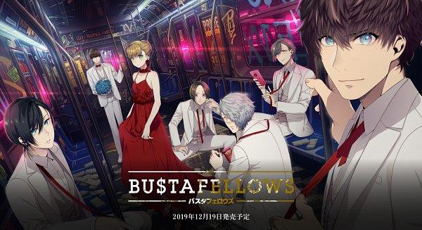 Tags: Anime, Sumeragi Kohaku, BUSTAFELLOWS, Limbo (BUSTAFELLOWS), Shu (BUSTAFELLOWS), Teuta, Scarecrow (BUSTAFELLOWS), Mozu (BUSTAFELLOWS), Helvetica, Adam (BUSTAFELLOWS), Wallpaper, Official Art