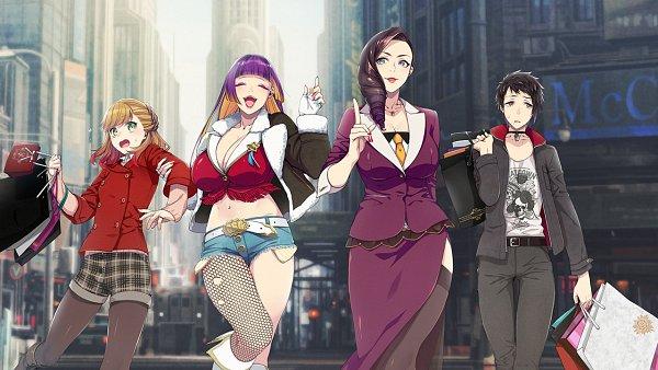 Tags: Anime, Sumeragi Kohaku, BUSTAFELLOWS, Luka (BUSTAFELLOWS), Teuta, Valerie (BUSTAFELLOWS), Carmen (BUSTAFELLOWS), CG Art, Official Art