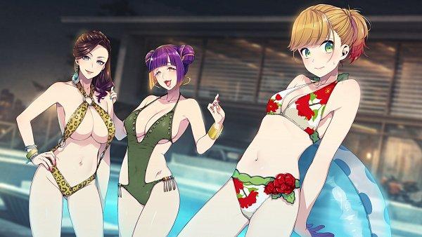 Tags: Anime, Sumeragi Kohaku, BUSTAFELLOWS, Carmen (BUSTAFELLOWS), Teuta, Valerie (BUSTAFELLOWS), CG Art, Official Art