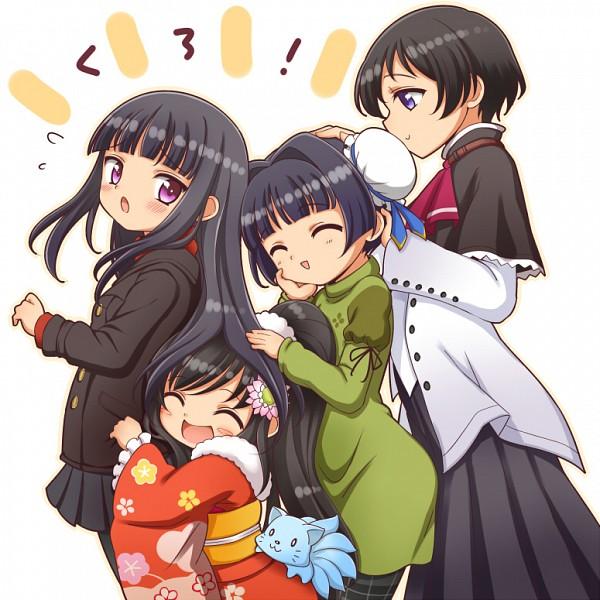 Tags: Anime, Kuga Yoshito, Baby Princess, Amatsuka Mizuki, Amatsuka Seika, Amatsuka Mizore, Amatsuka Urara