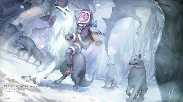 Tags: Anime, Babycat, Pixiv Fantasia: Sword Regalia, Pixiv, Pixiv Fantasia, Facebook Cover
