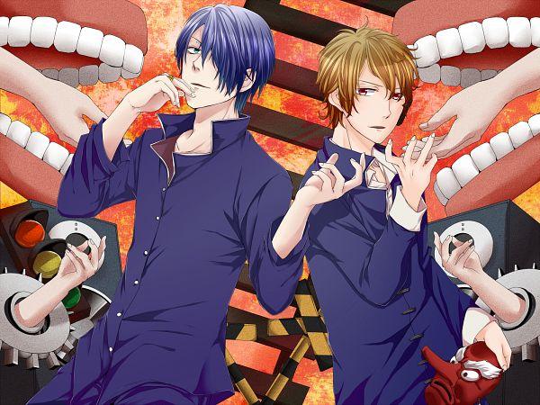 Tags: Anime, Itokena Hiroshi, Shamuon, Mi-chan, Traffic Light, PNG Conversion, Nico Nico Singer, Tohma-p, Pixiv, Babylon (Song), Fanart, Fanart From Pixiv, Nico Nico Douga