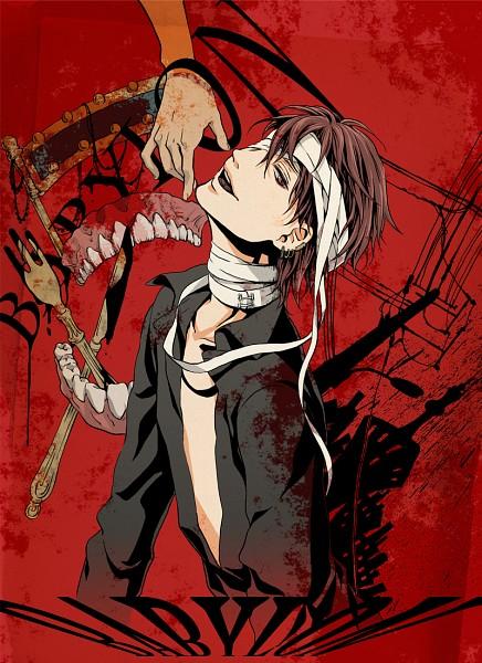 Tags: Anime, Glutamine, Bandaged Head, Nico Nico Singer, Babylon (Song)