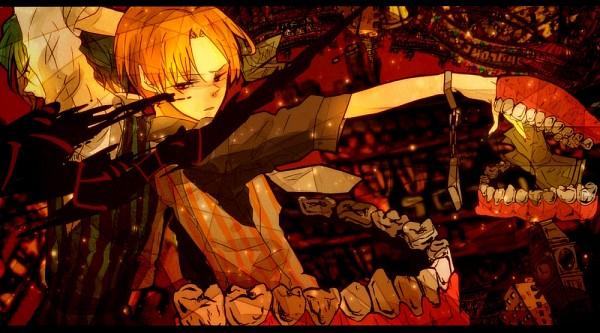 Tags: Anime, Pixiv Id 3986150, UTAU, Matsuda Ppoiyo, Suiga Sora, Pixiv, Babylon (Song), Fanart