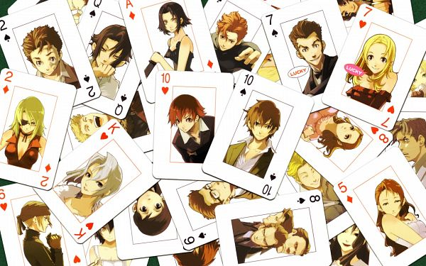 Tags: Anime, Baccano!, Chane Laforet, Luck Gandor, Nice Holystone, Ladd Russo, Miria Harvent, Czeslaw Meyer, Firo Prochainezo, Eve Genoard, Jacuzzi Splot, Ennis, Isaac Dian