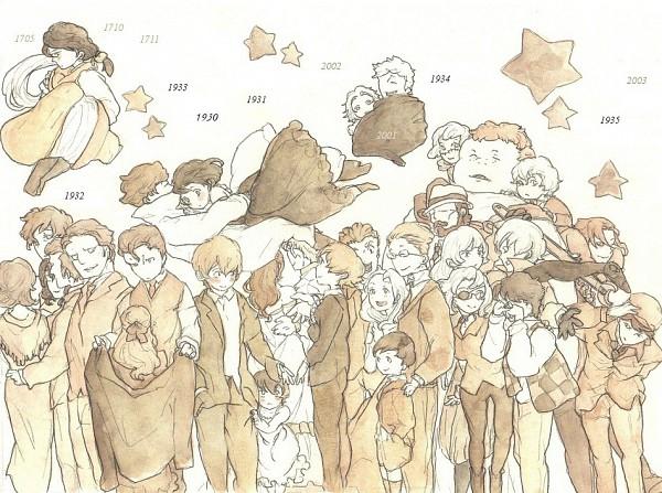 Tags: Anime, Pixiv Id 1578915, Baccano!, Graham Specter, Czeslaw Meyer, Lua Klein, Maiza Avaro, Christopher Chareau de Red, Ennis, Ladd Russo, Monica Campanella, Chane Laforet, Isaac Dian