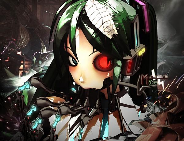 Tags: Anime, Kotaro Maeda, VOCALOID, Calcium, Machine, Bacterial Contamination