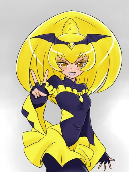 Tags: Anime, Bakusai, Smile Precure!, Bad End Peace, Yellow Gem, Fanart From Pixiv, Pixiv, Fanart