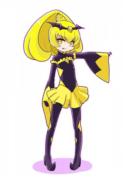Tags: Anime, Bakusai, Smile Precure!, Bad End Peace, Yellow Skirt, Yellow Gem, Pixiv, Fanart, Fanart From Pixiv