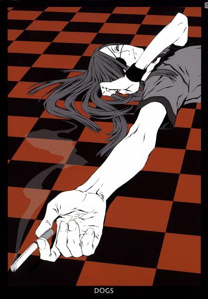 Tags: Anime, Miwa Shirow, DOGS: Bullets & Carnage, Badou Nails, Scan, Mobile Wallpaper