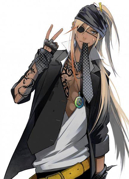 Tags: Anime, Koutarou (Artist), DOGS: Bullets & Carnage, Badou Nails, Pixiv, Mobile Wallpaper, Fanart