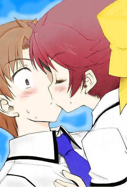 Tags: Anime, Sugisakiken, Baka to Test to Shokanju, Yoshii Akihisa, Shimada Minami, Surprise Kiss,  Baka And Test: Summon The Beasts