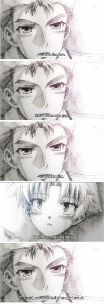 Tags: Anime, Baka to Test to Shokanju, Sakamoto Yuuji, Yoshii Akihisa, Screenshot,  Baka And Test: Summon The Beasts