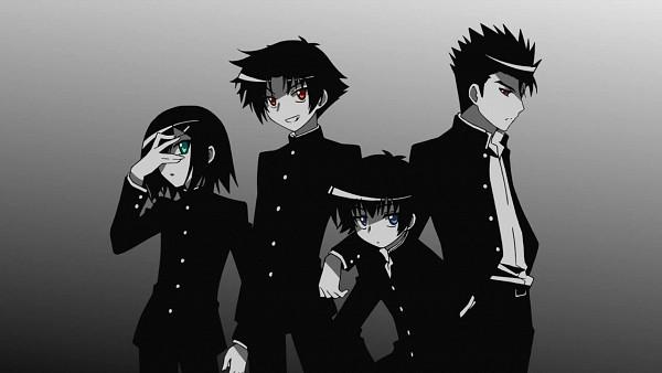 Tags: Anime, Baka to Test to Shokanju, Yoshii Akihisa, Tsuchiya Kouta, Sakamoto Yuuji, Kinoshita Hideyoshi, Facebook Cover, Screenshot, Wallpaper,  Baka And Test: Summon The Beasts