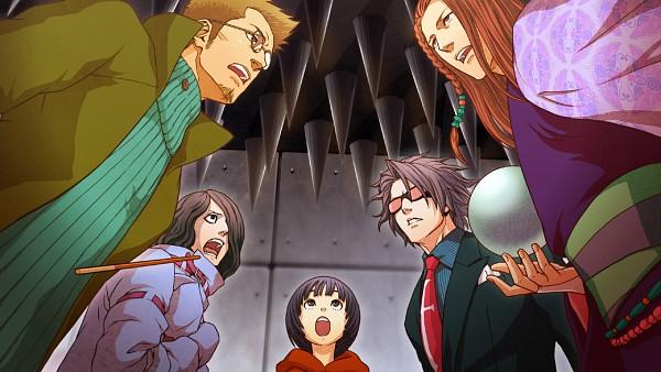 Tags: Anime, IDEA FACTORY, Bakudan Handan, Meoshi Kouta, Shidou Subaru, Inafune Saki, Urabe Kimimaro, Shirabe Ayumu, Sphere, Wallpaper