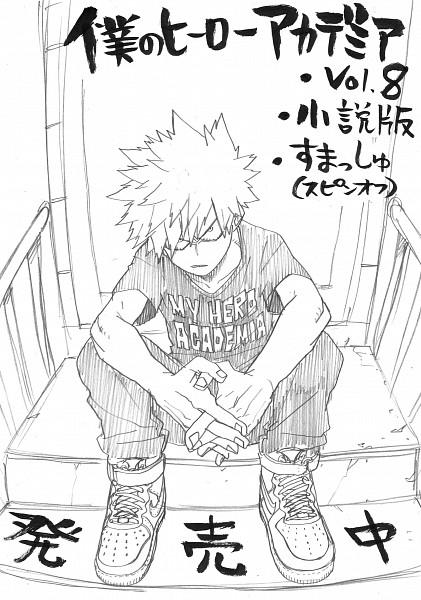 Tags: Anime, Horikoshi Kouhei, Boku no Hero Academia, Bakugou Katsuki, Official Art