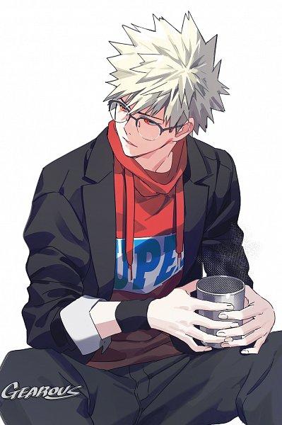 Tags: Anime, Gearous, Boku no Hero Academia, Bakugou Katsuki, Fanart