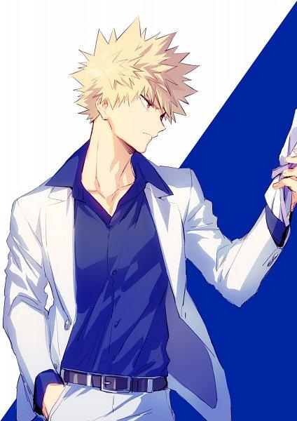 Tags: Anime, hegi, Boku no Hero Academia, Bakugou Katsuki, White Day, Twitter, Revision, Fanart