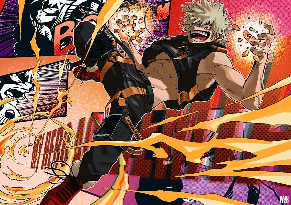 Tags: Anime, Pixiv Id 52087893, Boku no Hero Academia, Bakugou Katsuki, Fanart, Fanart From Pixiv, Pixiv