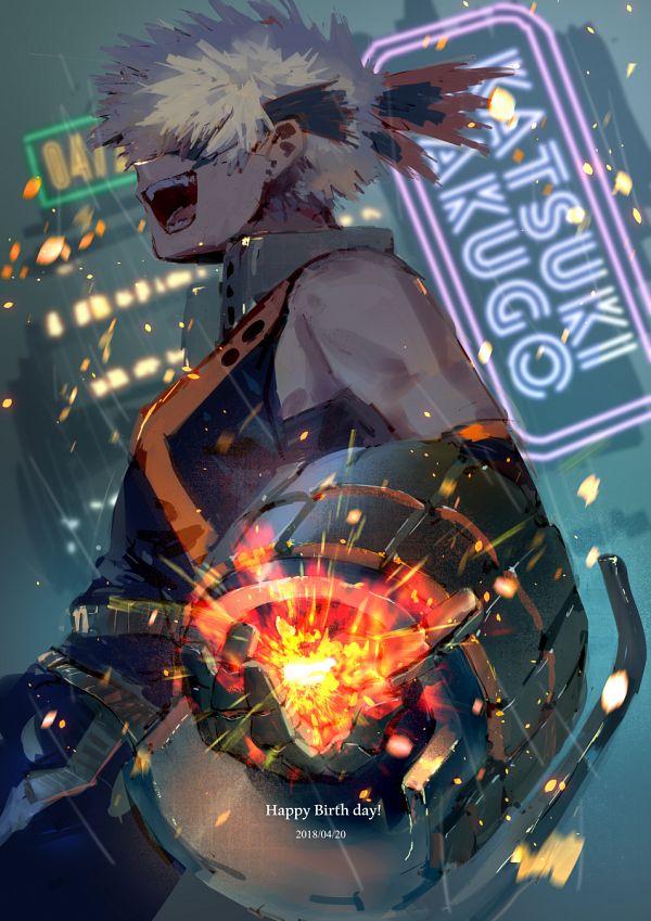 Tags: Anime, mebarunrun, Boku no Hero Academia, Bakugou Katsuki, Fanart, Fanart From Pixiv, Pixiv